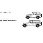 Штатная электрика фаркопа RamredAC (7-полюсная) Jeep Wrangler 2007-