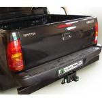 ТСУ для TOYOTA HILUX (4WD) (N2) с задним силовым бампером 2008-...
