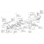ТСУ VFM (Россия) для Citroen Jumper III, Fiat Ducato IV, Peugeot Boxer III  (с электрикой) 2006-