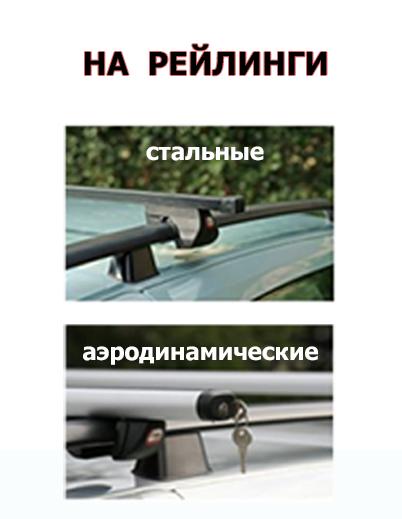 Багажник на рейлинги